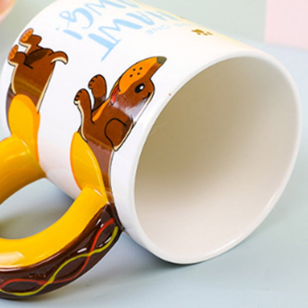 Dachshund Sausage Coffee Mugs