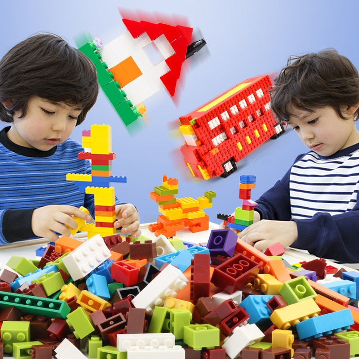 Building Blocks Kids Assemble Small Size