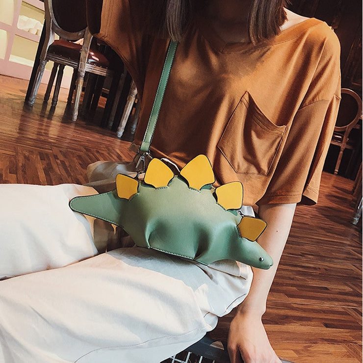 dinosaur leather Cell Phone shoulder bags