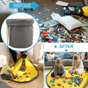Lego Play Mat with Basket Organizer