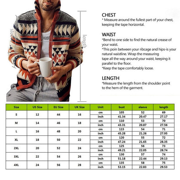 Long Sleeve tribal sweater