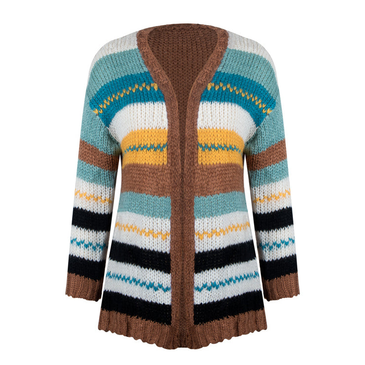 Knitted Spring Sweater