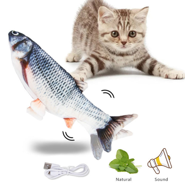Electronic Flopping Catnip Fish