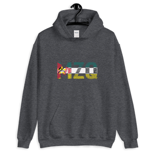 Mozambique Cluster and Flag Hoodie