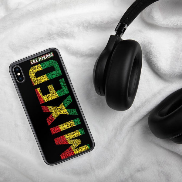 MIXED Word Cluster iPhone Case