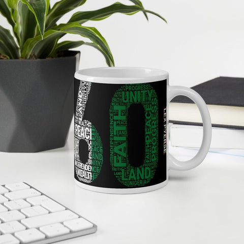 Nigerian 1960 Independence Mug