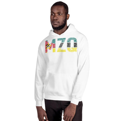 MOZAMBIQUE NATIONAL FLAG INSPIRED Unisex Hoodie - pyerses-bookstore-and-clothing.myshopify.com
