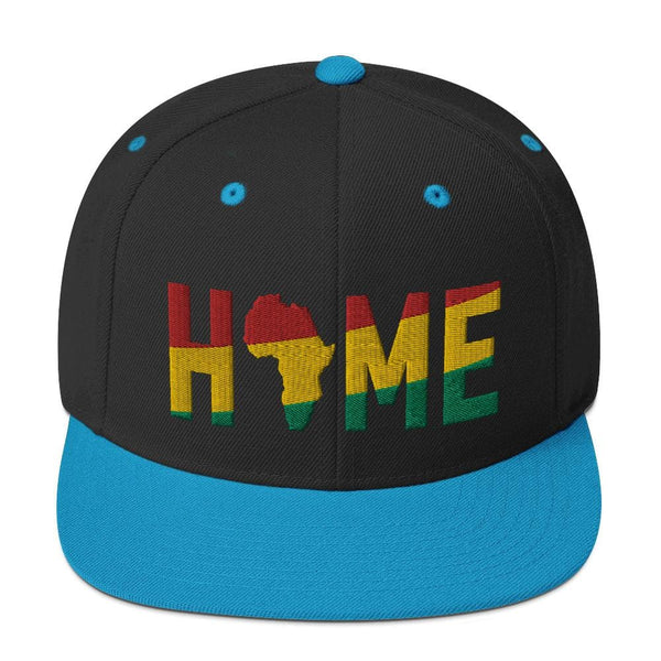 HOME Africa Silhouette Short-Sleeve Snapback Hat - pyerses-bookstore-and-clothing.myshopify.com