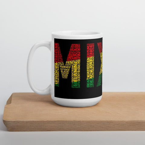 MIXED Word Cluster Mug