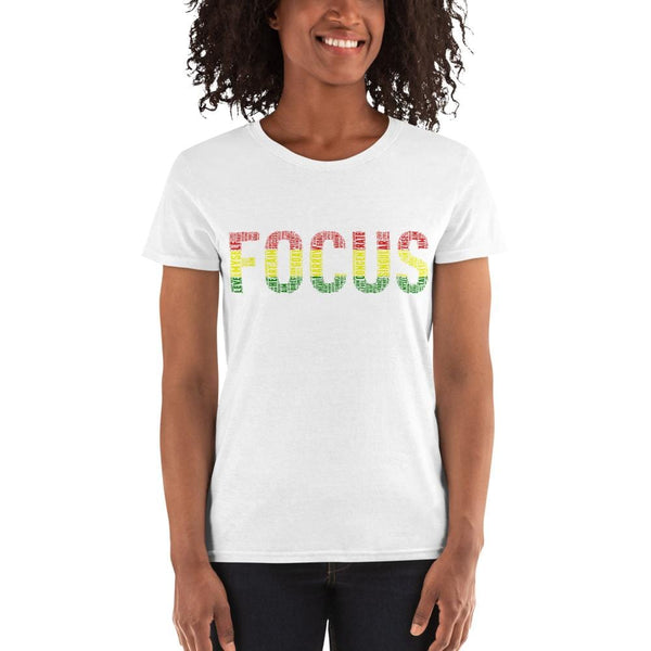 FOCUS Cluster Ladies' T-shirt - pyerses-bookstore-and-clothing.myshopify.com