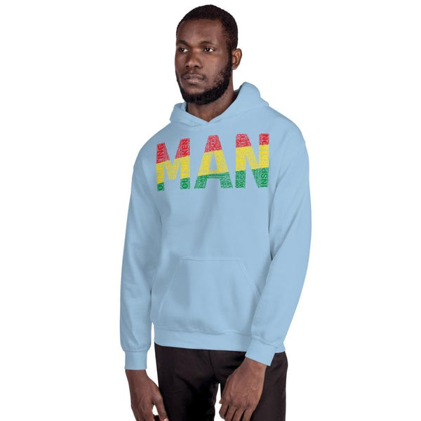 MAN Pan-African Word Cluster Unisex Hoodie - pyerses-bookstore-and-clothing.myshopify.com