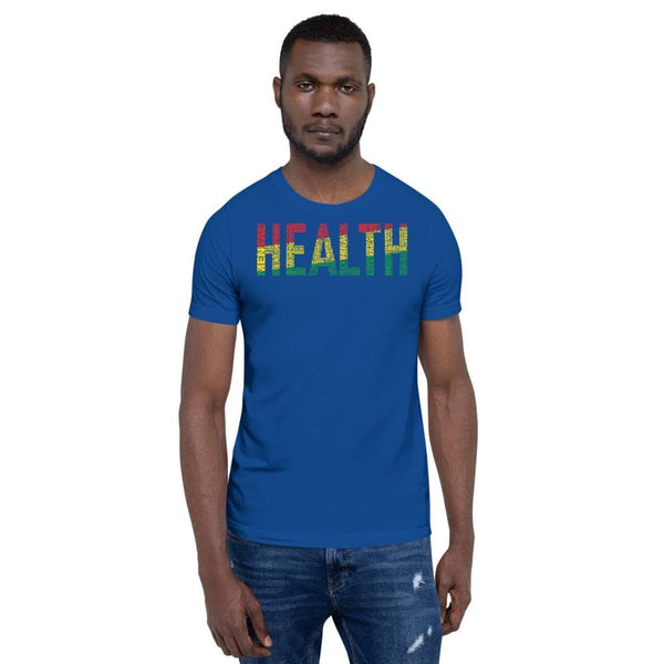 HEALTH Pan-African Short-Sleeve Unisex T-Shirt - pyerses-bookstore-and-clothing.myshopify.com