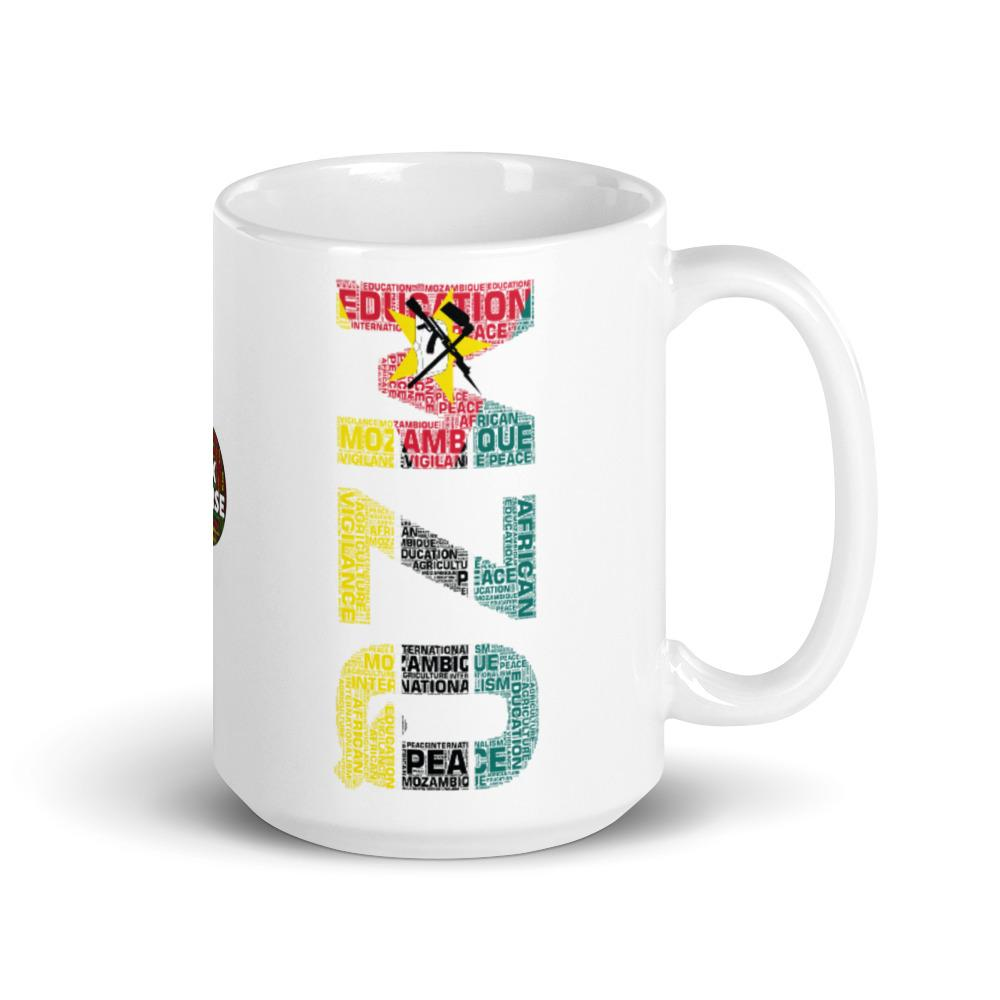Mozambique Modern National Flag Inspired Mug