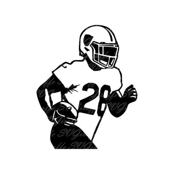 Josh Jacobs Svg Dxf Png Pdf Jpg Eps Files Oakland Raiders Svg Vector Svgiraffe