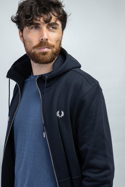 FRED PERRY - FELPA ZIP