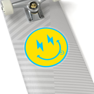 Bolt Happy Face Stickers