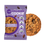 Collagen Oatmeal Raisin Cookies