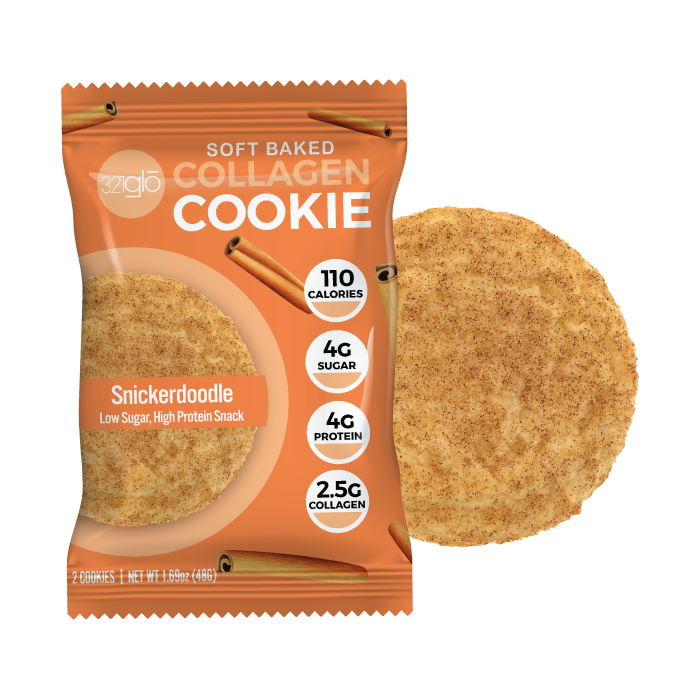 Collagen Snickerdoodle Cookies