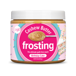 Birthday Cake Cashew Butter Frosting