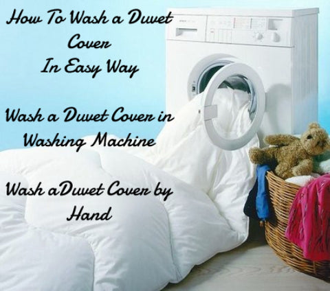 How to Wash a Duvet Cover