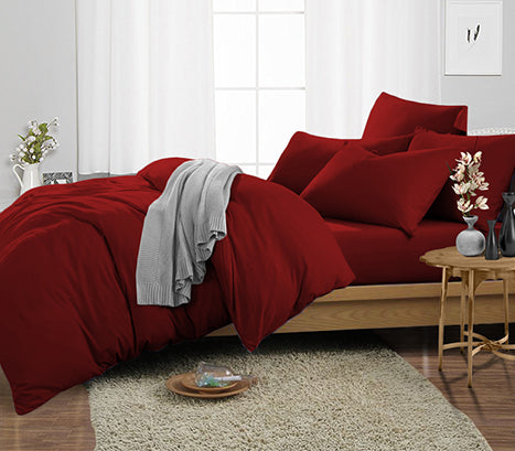 Burgundy Duvet Cover