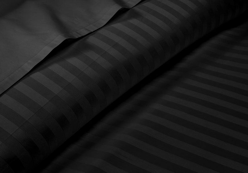 600TC Black Stripe RV Camper Sheet Set