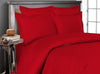 Comfy Blood Red Striped Bedding In a Bag