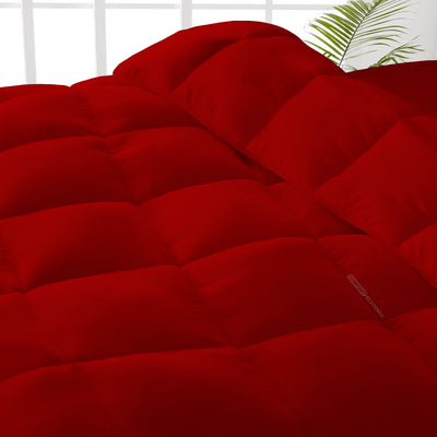Best Quality Blood Red Comforter