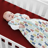 Burgundy Fitted Crib Sheets - 1000 and 600TC