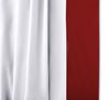 Egyptian cotton burgundy two tone bed skirt
