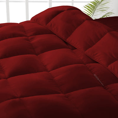 Top Quality Burgundy Comforter