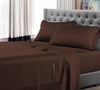 100% Egyptian Cotton Chocolate Brown Sheet Set