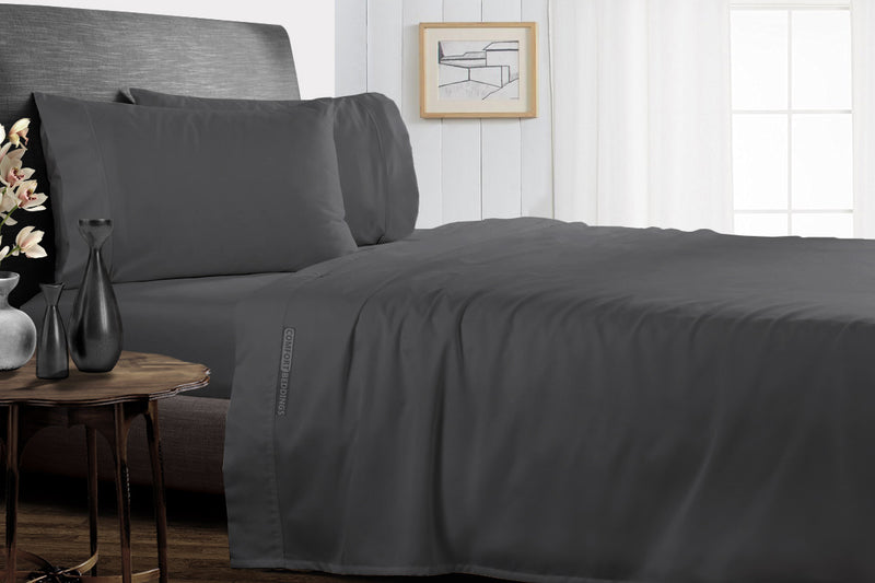 Luxury Dark Grey Split Sheet Set