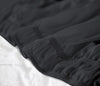 Luxurious Dark Grey Wrap Around bed skirt