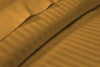 Best Collection Dark Golden Stripe Waterbed Sheets