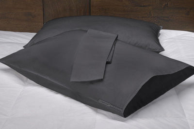 grey pillow cases