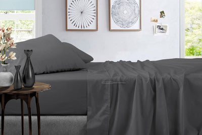 grey twin sheets