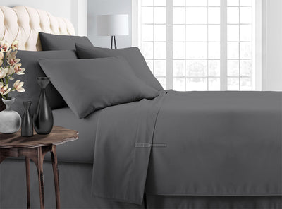 Dark grey Luxury Bedding In a Bag