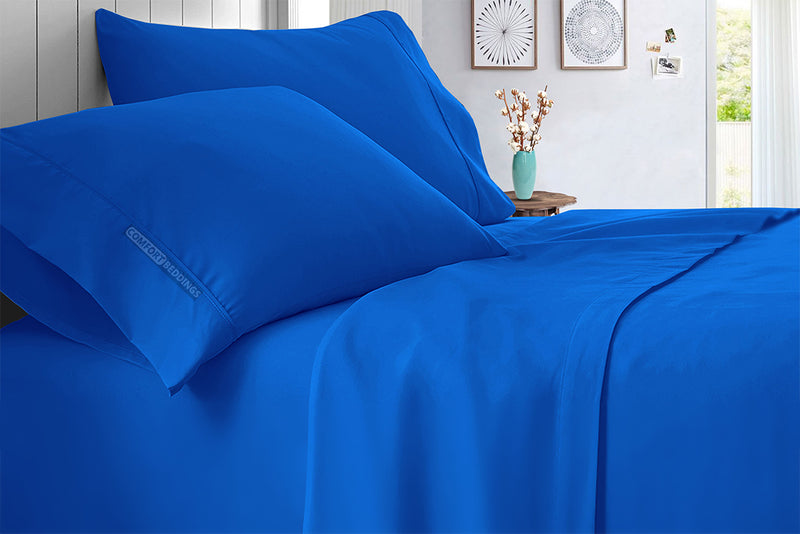 Luxury 600 TC Royal blue Sheet Set