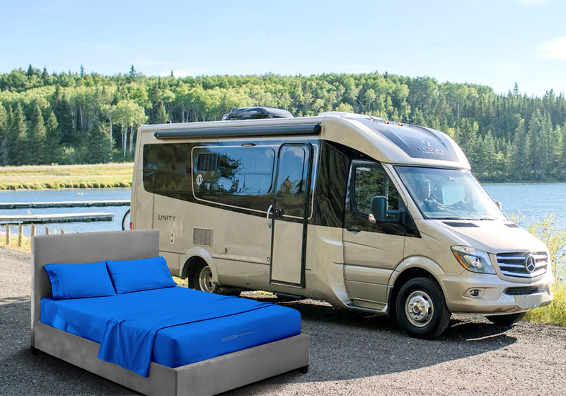 Most Selling Royal Blue Rv sheets