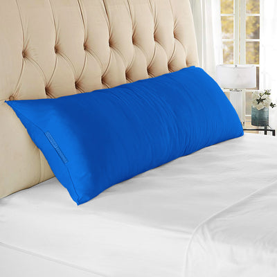 Top Selling Royal blue body pillow case