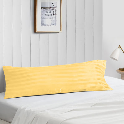 Top Quality Golden stripe body pillow cover