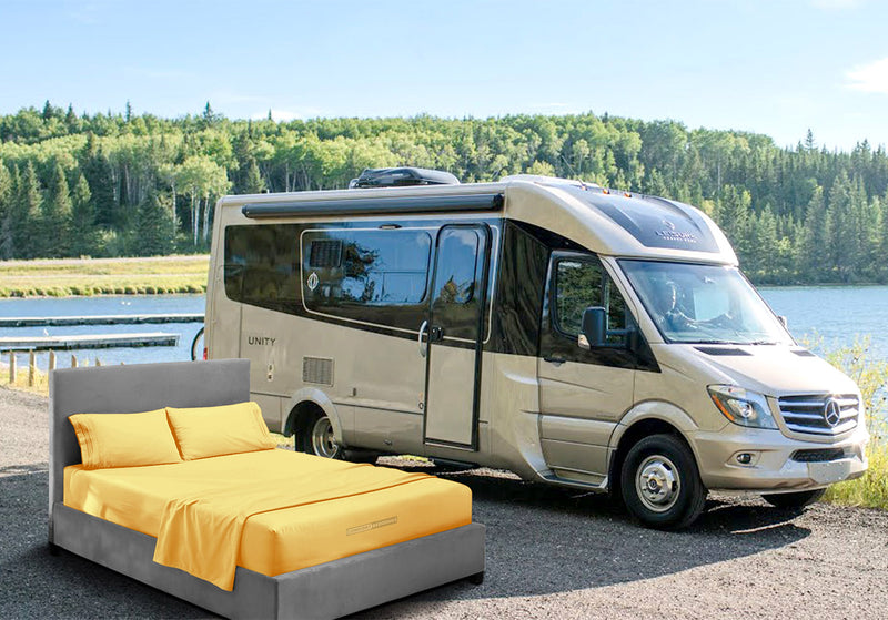Cozy Golden Rv Queen Sheets