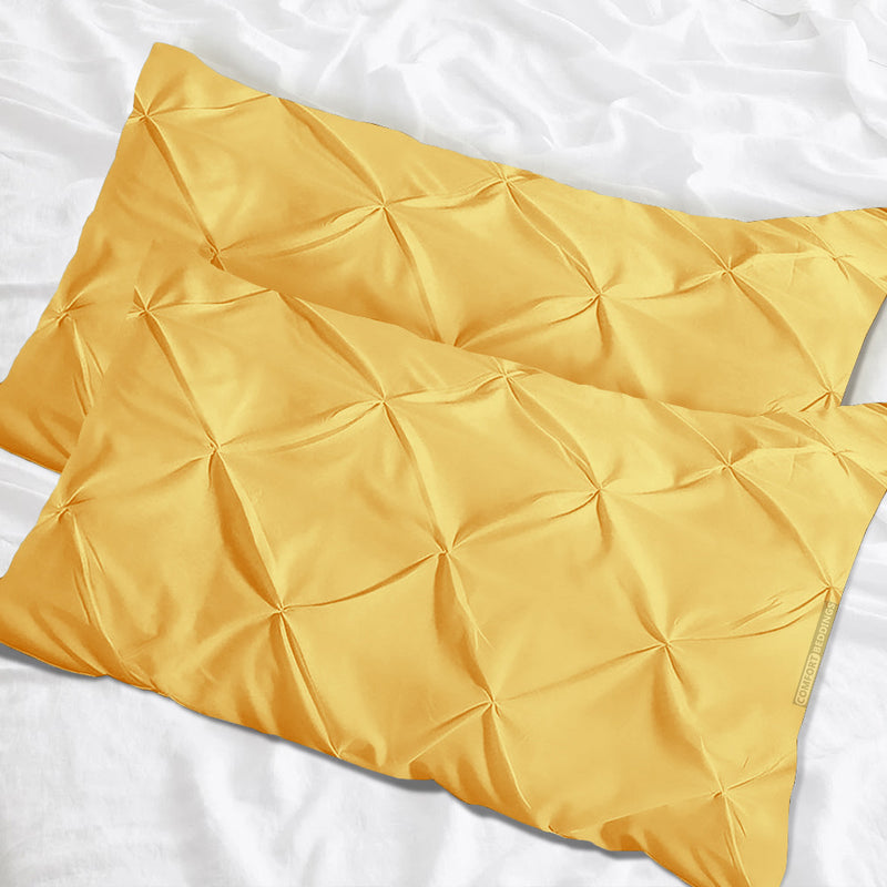 Top quality golden pinch pillow cases