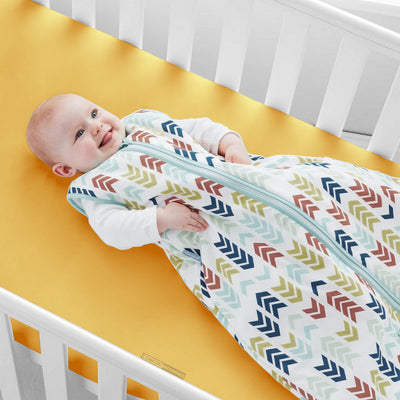 Luxury 600TC Golden Fitted Crib Sheets
