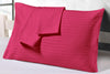 600 TC Striped Hot Pink Pillow Cases