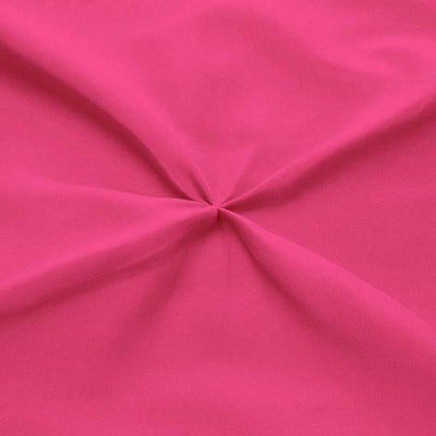 Best 100% cotton Hot Pink pinch pleated bed skirt