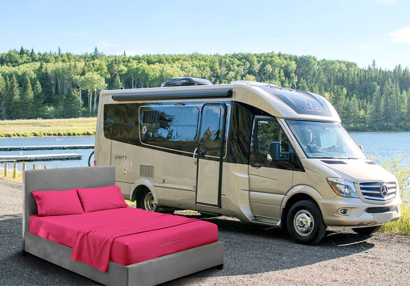 Luxury Hot Pink Rv Bedding