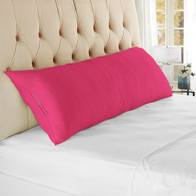 Ultra soft hot pink body pillow cover