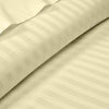 Elegant Ivory Stripe 600TC Duvet Cover set